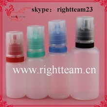 LDPE squeeze bottle soft eliquid,15ml 30ml bottles pet stock, pet plastic bottles