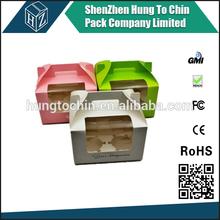 Birthday Wedding Printed Packaging paper kraft paper cake box