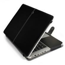 luxury flip leather sleeve for macbook air 13