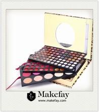 Cosmetics distributor! Wholesale Leopard case 159 colors makeup kit
