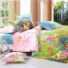 Wholesale 100% Cotton Reactive 3d Printed Comfortable Bedding Set/Luxury Fantasy Bedding set