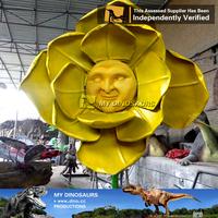 MY Dino- amusement park equipment decorative large artificial flower