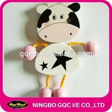 Wooden Fridge Magnet,cartoon Fridge Magnet,wood gift ideal promotional gift