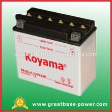Yuasa Mobility and Golf Trolley Batteries & motorcycle battery YB18L-A, 12V18ah