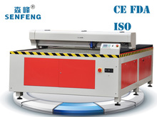 Manufacturer! New flatbed co2 130W 150W metal laser cutter cost