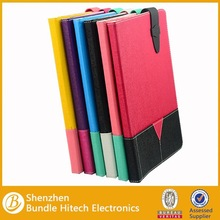2015 Newest book style leather case for ipad air 2