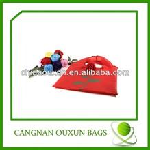 wholesale nylon reusable folding rose shopping bag