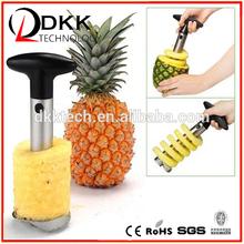 2015 Unique design household Fruit Pineapple Corer Slicer Peeler Cutter Parer Stainless Kitchen Easy Tool Kit