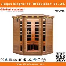 5 people indoor steam room infrared fiber optic light for sauna