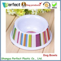 cute plastic pet dog bowl of eco-friendly material