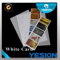 NEW ARRIVALS ! pvc thin plastic sheet Non-laminated a4 inkjet printable material pvc id cards pvc plastic sheet
