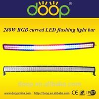 2015 Tendency Hottest Curved 12 Volt RGB LED Flood Light Bar