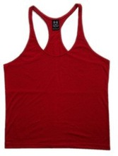 Promotional bodybuilding stringer tank top wholesale tank top men