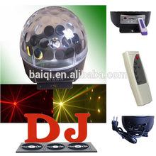 che emettono colore luci da discoteca cinese 6x3w rgbwyp portato sfera magica illuminazione dj