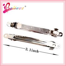 Girls long hair clips wholesale handmade french hair clip barrette