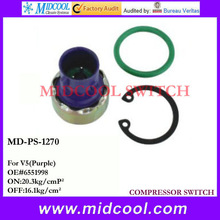 Good quality Auto AC pressure switches / thermostats / sensors for V5 (Purple) OEM 6551998