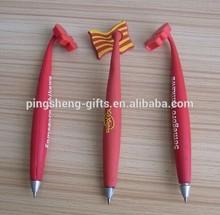 Flexible Rubber 2d Pr 3D Soft PVC Pen Fridge Magnet