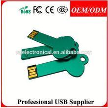 key shape promotional flash pen drive , key style free sex girls with animals free usb flash drive