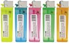 color flint butane lighter ,77mm,80mm