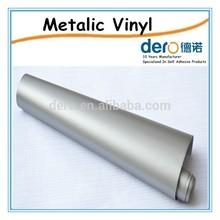 Durable Matt Gold and Silver Color PVC Vinyl Film Foil/Signboard Vinyl Stickers/Advertising Materials