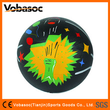 Rubber Basketball Mini Colorful Rubber Basketball