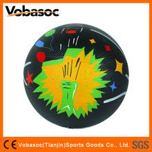 Rubber Basketball Mini Colorful Rubber Basketball