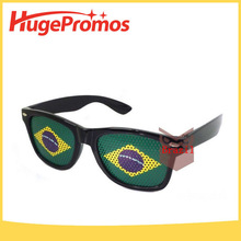 Coustom Funny Football Fans Pinhole Glasses