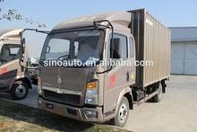mini diesel cargo truck howo, lorry,goods van