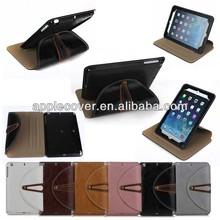 Luxury Unique Belt Clip Leather Case For iPad Mini 1/2/3