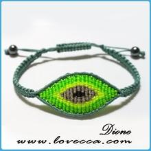 New arrival !!! Hot sale new festival evil eye and sideways cross bracelet