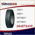 la conception de pneu radial de camion 285/75R24.5 à vente en gros