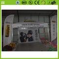 Al aire libre de aluminio/hierro mirador tienda de la playa 4x4 marco tienda mirador tienda 4m x 4m