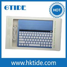 Mini Chocolate Wireless Slim Bluetooth Keyboard For Ipad And Iphone