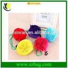 fashion eco foldable shopping bag rose