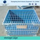 Industrial Steel Warehouse Storage Cage