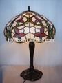 2015 venta al por mayor decorativos Tiffany iluminación de la lámpara