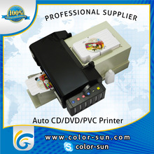 Top sales! Automatic CD DVD desktop printer with 50pcs CD tray for CD DVD printing for epson L800