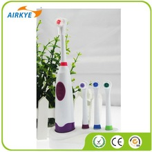 Care Battery Revolving Waterproof Electric Toothbrush With 4 Replacements
