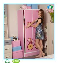 nova moda plástico cama armário de roupa de plástico roupeiro quarto para crianças roupeiro de correr