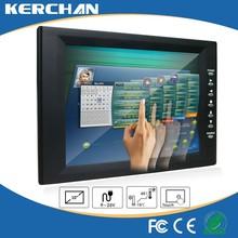 10 inches touch screen av input vga hd lcd monitor