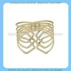 gold zinc alloy infinity woven bracelet wholesale in alibaba