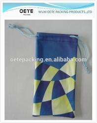 heat transfer microfiber pouch/microfiber sunglass pouch