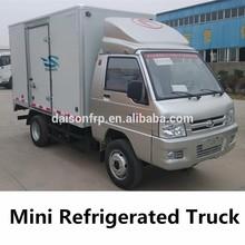 Mini Fiberglass Cooling Truck Van
