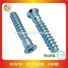 Carbon steel Furniture screw / Euro Fasteners / Confirmat screw
