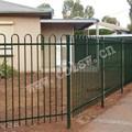 tubulação de aço galvanizado fence para edifícios