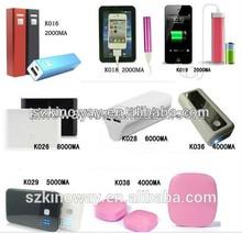 HOT!!! 1600/1800/2200/2600/3000/5200/6000/9000/10000/12000/15000mAh power bank for smartphone