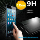New Arrival premium tempered glass anti-scratch perfect transparent 9h tempered glass screen protector for ipad air