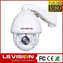 LS VISION security camera monitors pan tilt camera mount ip cam pan tilt