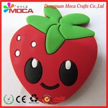 Eco-friendly PVC/silicone popular promotional decoration 3d fridge magnet