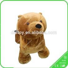 Little Bear Shape Stuffed Animal Game/Electric Ride for Kids